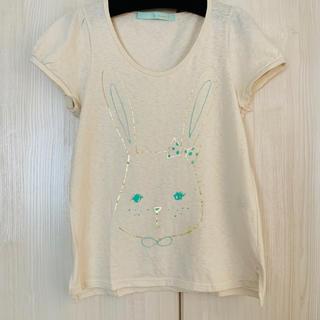franche lippee - フランシュリッペ・うさぎさんTシャツのセット