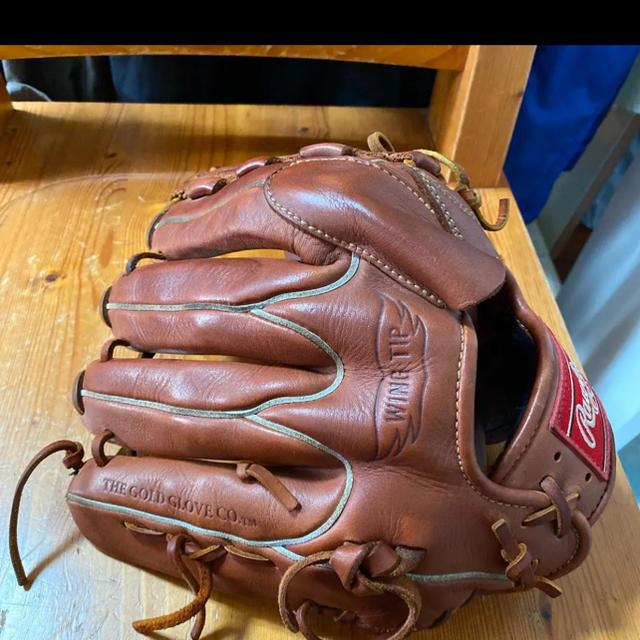 Rawlings(ローリングス)のローリングス 投手用グローブ スポーツ/アウトドアの野球(グローブ)の商品写真