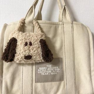 【ベージュちゃん】レジ袋バッグ ミニバッグ ハンドメイド (外出用品)