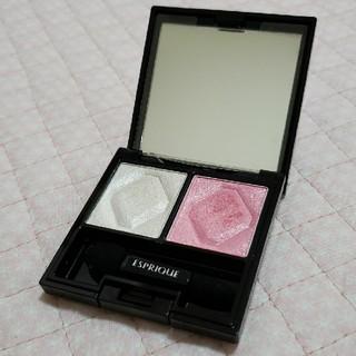 ESPRIQUE - エスプリーク アイシャドウパレット ホワイト ピンク