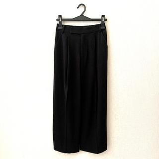 ドアーズ(DOORS / URBAN RESEARCH)のアーバンリサーチdoors♡黒色のワイドパンツ(カジュアルパンツ)