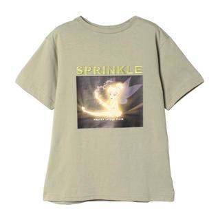 eimy istoire - eimy istoire Disney color Tシャツ ピスタチオグリーン