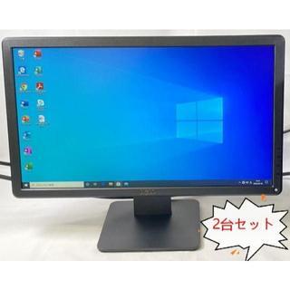 デル(DELL)のRF-629 DELL E2014Hf 19.5インチ 液晶 2点セット(ディスプレイ)