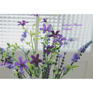 sold out❁ずっと咲いてる❁*·可愛い小花とラベンダー花束(その他)
