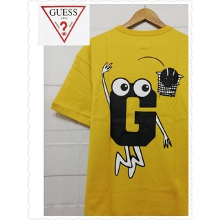 GUESS - GUESS [GENERATIONS] メンズ Tシャツ マスタード 大人気