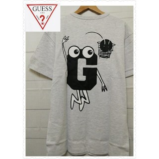 GUESS - GUESS [GENERATIONS]  メンズ Tシャツ ライトグレー 大人気