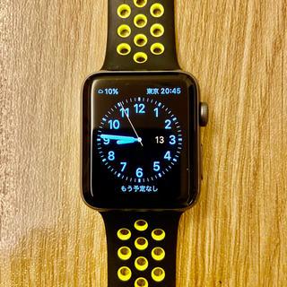 アップルウォッチ(Apple Watch)のApple Watch Series 2  Nike+ - 42mm 美品!(その他)