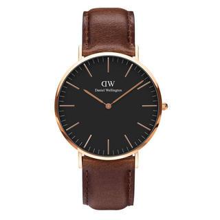 ダニエルウェリントン(Daniel Wellington)の安心保証付き【40㎜】ダニエルウエリントン 腕時計〈DW00100125〉(腕時計(アナログ))