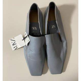 ザラ(ZARA)のZARA ローファー 24cm タグ付き未使用(ローファー/革靴)