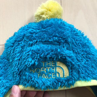 THE NORTH FACE - ノースフェイス  帽子 ボア ベビー フリース