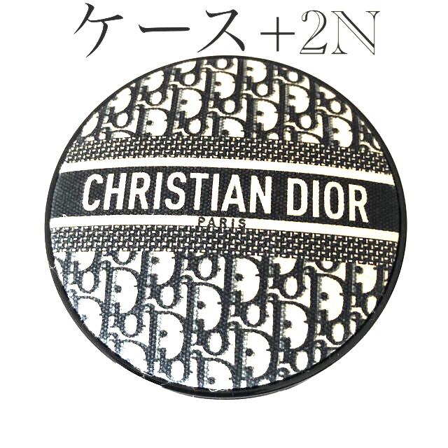 Christian Dior(クリスチャンディオール)の限定ケース❗️ディオール クッションファンデーション 2N コスメ/美容のベースメイク/化粧品(ファンデーション)の商品写真