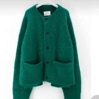 1LDK SELECT - stein 20 aw KID MOHAIR CARDIGAN