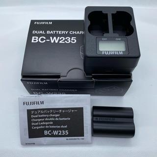 フジフイルム(富士フイルム)のFUJIFILM X-T4用バッテリー&充電器(中古)(その他)
