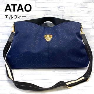 アタオ(ATAO)の良品 アタオ elvy エルヴィ モノグラム ショルダーバッグ(ショルダーバッグ)