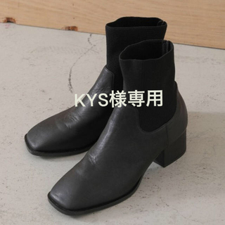 BLACK by moussy - セール!新品未使用 Black by Moussy combi boots 38