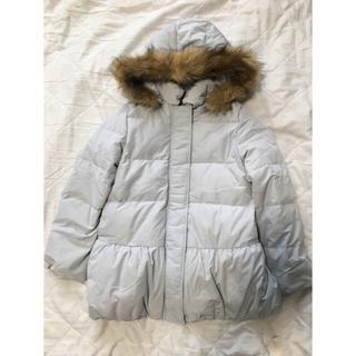 ユニクロ(UNIQLO)のGU ダウンコート 140  ジャケット 防寒 (コート)