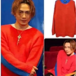 カルバンクライン(Calvin Klein)の【希少】CALVIN KLEIN 205W39NYC モヘアニットセーター(ニット/セーター)