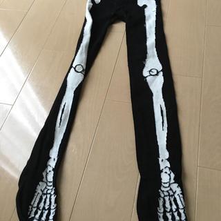 エイチアンドエム(H&M)のH&M キッズ 仮装用タイツ 骨柄(衣装)