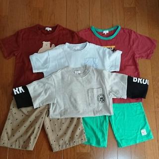 グリーンレーベルリラクシング(green label relaxing)のgreen label relaxing kids Tシャツ&パンツ6点セット (Tシャツ/カットソー)