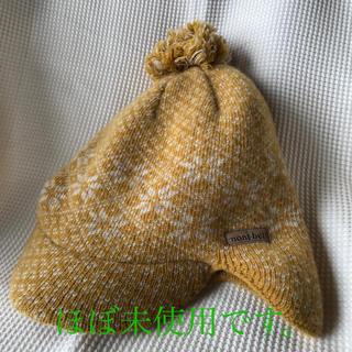 モンベル(mont bell)のmont-bell ウール100  可愛いニット帽(ニット帽/ビーニー)