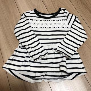 ナルミヤ インターナショナル(NARUMIYA INTERNATIONAL)のPupil House サイズ90 ロングTシャツ(Tシャツ/カットソー)