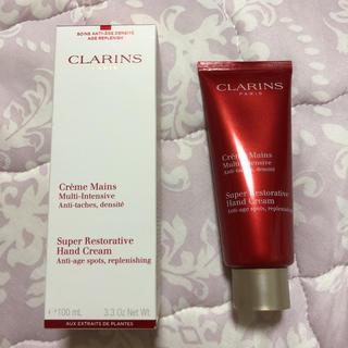 クラランス(CLARINS)のクラランス スープラ ハンドクリーム 新品未使用(ハンドクリーム)