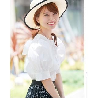 Chesty - 今期完売♡新品タグ付♡後ろリボンプルオーバー
