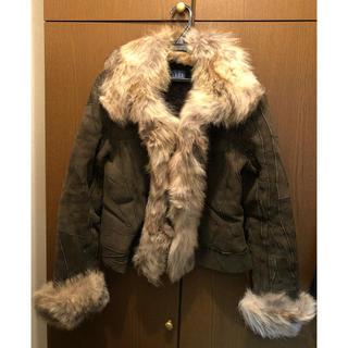 ローズバッド(ROSE BUD)のROSEBUD KRYOS Paris fur クリオス ファージャケット 毛皮(毛皮/ファーコート)