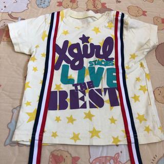 エックスガール(X-girl)のエックスガール Tシャツ キッズ 90サイズ(Tシャツ/カットソー)