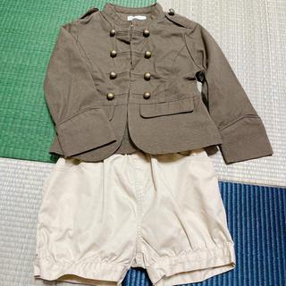 MUJI (無印良品) - かぼちゃパンツ&ジャケット