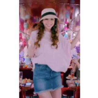 安室奈美恵さん着用 リガレクト  デニムスカート(ミニスカート)