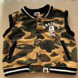 A BATHING APE - BAPE KIDS ベスト