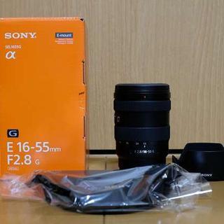 ソニー(SONY)の美品 中古 SONY E16-55 F2.8 SEL1655G(レンズ(ズーム))