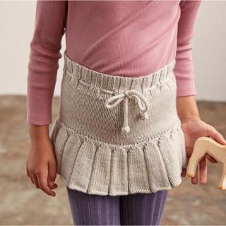 ボンポワン(Bonpoint)の新品タグ付き‼️20aw misha&puff スカート 4-5y cloud(スカート)