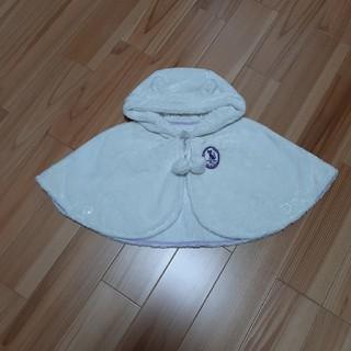 アナスイミニ(ANNA SUI mini)のアナスイミニ ベビーポンチョ 新生児 メゾピアノ シャーリーテンプル(ジャケット/コート)