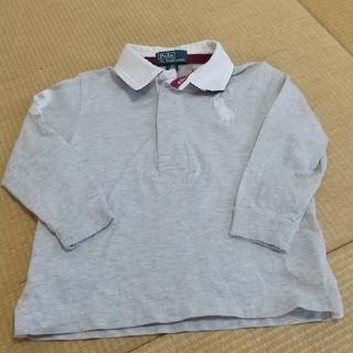 ポロラルフローレン(POLO RALPH LAUREN)のラルフローレン 90サイズ 長袖ラガーシャツ(Tシャツ/カットソー)