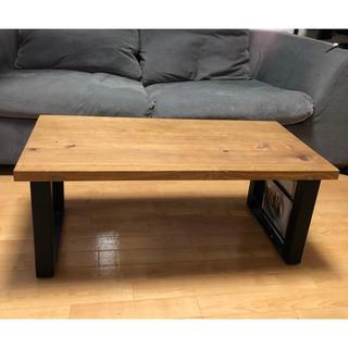 アクタス(ACTUS)の無垢 ローテーブル 北欧 アンティーク(ローテーブル)