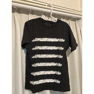 ナンバーナイン(NUMBER (N)INE)のnumber nine denim Tシャツ 黒 Mサイズ(Tシャツ/カットソー(半袖/袖なし))