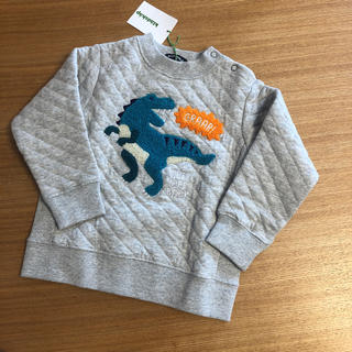 kladskap - 新品 クレードスコープ 90 キルティング 恐竜トレーナー トップス
