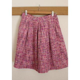 トッカ(TOCCA)のTOCCAツイードスカート(ひざ丈スカート)