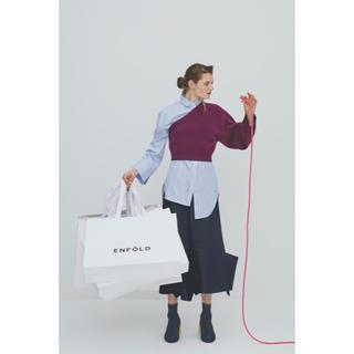 エンフォルド(ENFOLD)の吉田羊さん着用 エンフォルド シャツ ニット(ニット/セーター)