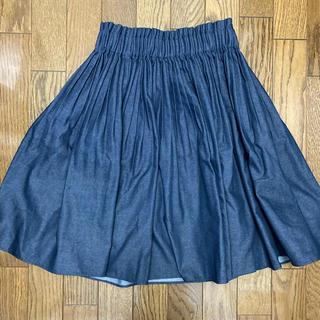 アニエスベー(agnes b.)のトュービーバイアニエスベー 膝丈スカート 未使用(ひざ丈スカート)