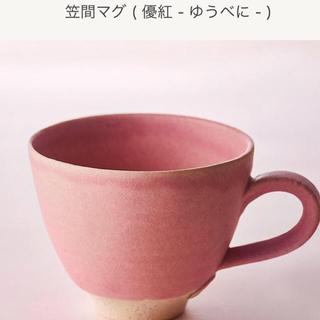 タリーズコーヒー(TULLY'S COFFEE)のTULLY'S タリーズ 笠間マグ 2020  ( 優紅 - ゆうべに - )(グラス/カップ)
