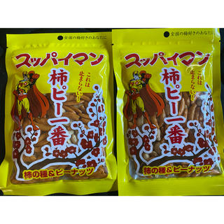 カメダセイカ(亀田製菓)のスッパイマン 2袋 梅 柿ピー 柿の種 ドンキ (菓子/デザート)