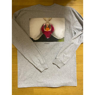 シュプリーム(Supreme)の16aw Supreme Araki Orchid L/S Tee M GREY(Tシャツ/カットソー(七分/長袖))