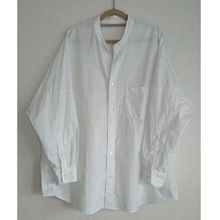 ルグラジック(LE GLAZIK)のLe Glazik(ルグラジック)タイプライターバンドカラーシャツ(シャツ/ブラウス(長袖/七分))