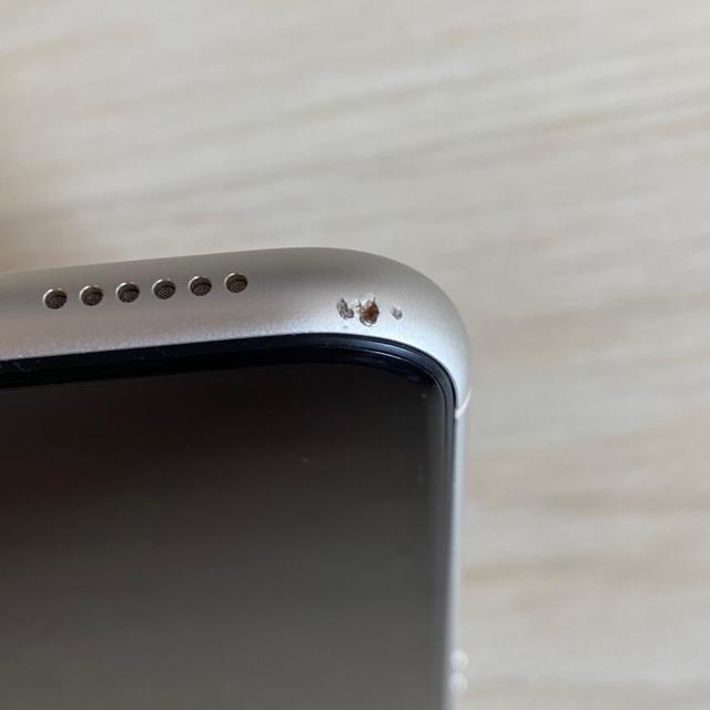 Apple(アップル)のiPhone XR ホワイト 64GB   SIMフリー 本体 スマホ/家電/カメラのスマートフォン/携帯電話(スマートフォン本体)の商品写真