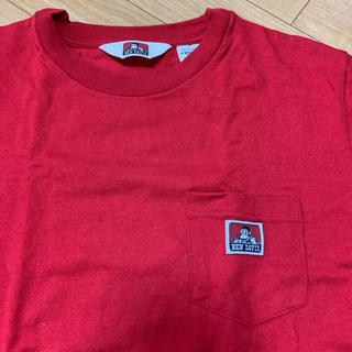 ベンデイビス(BEN DAVIS)のベンデイビス tシャツ 赤(Tシャツ/カットソー(半袖/袖なし))