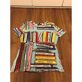ジャンポールゴルチエ(Jean-Paul GAULTIER)のゴルチェ カットソー Tシャツ ブック 本 総柄(Tシャツ(半袖/袖なし))