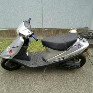 スズキ(スズキ)のSUZUKI アドレスV100(CE13A) 不動車 バイク オートバイ 原付(車体)